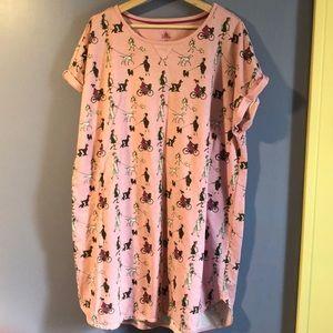 Disney Dalmatian Nightgown (never Worn)